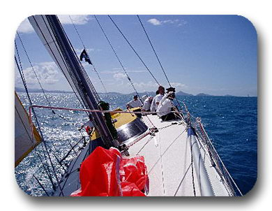 bareboat charter sailing lessons pittwater