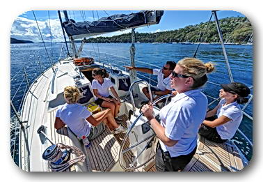 introductory sailing lessons pittwater